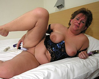 This big but mature lady needs filling